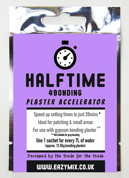 Halftime 4BONDING Plaster Accelerator X 5 SACHETS