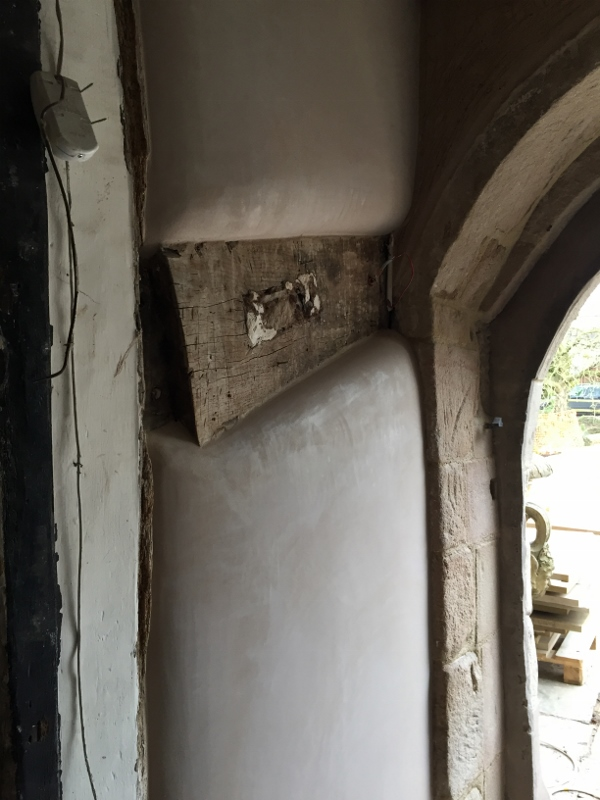 lime plaster to a Jacobean house grade 1 listed building by north staffs plastering ltd 03.jpg